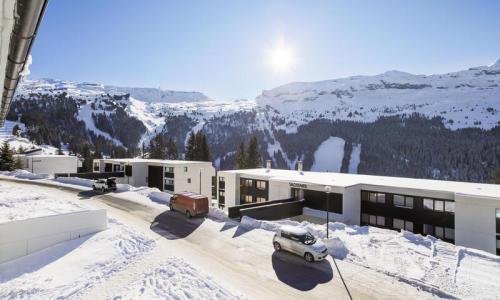 Wakacje w górach Apartament 2 pokojowy 6 osób (Confort 41m²-2) - Résidence Gémeaux - Maeva Home - Flaine - Zima na zewnątrz