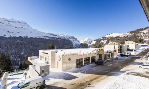 Wakacje w górach Studio 4 osoby (Confort 26m²-2) - Résidence Gémeaux - Maeva Home - Flaine - Zima na zewnątrz