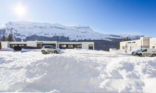 Wakacje w górach Studio z alkową 4 osoby (Confort 24m²-0) - Résidence Gémeaux - Maeva Particuliers - Flaine - Zima na zewnątrz