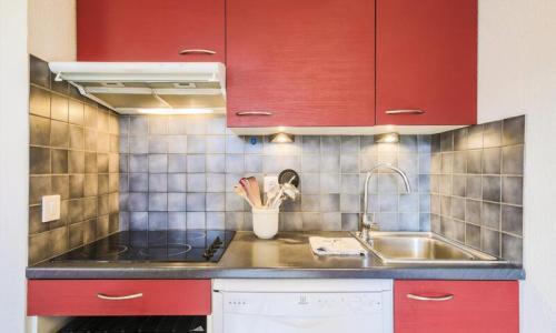 Wakacje w górach Apartament 3 pokojowy 8 osób (Confort 60m²-2) - Résidence Grand Massif - Maeva Home - Flaine - Aneks kuchenny
