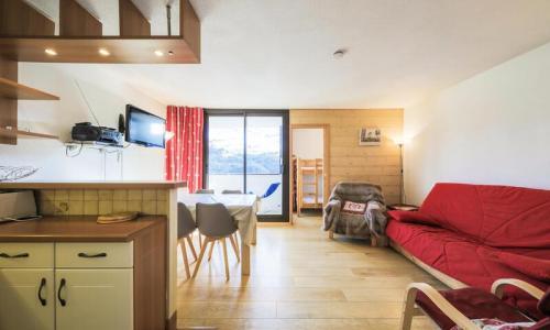 Wakacje w górach Apartament 3 pokojowy 8 osób (Sélection 60m²-4) - Résidence Grand Massif - Maeva Home - Flaine - Pokój gościnny