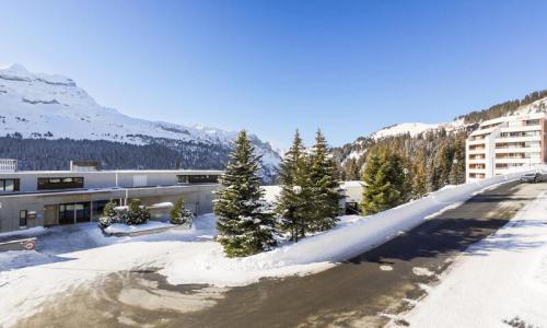 Wakacje w górach Apartament 3 pokojowy 8 osób (Confort 60m²-2) - Résidence Grand Massif - Maeva Home - Flaine - Zima na zewnątrz