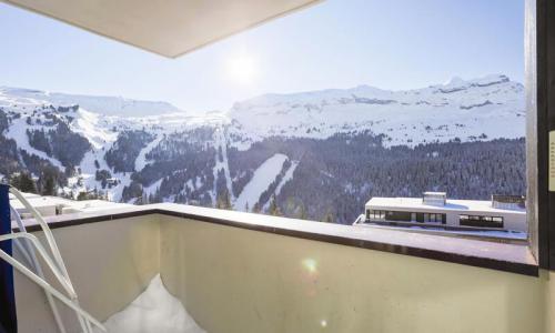 Wakacje w górach Apartament 3 pokojowy 8 osób (Sélection 60m²-4) - Résidence Grand Massif - Maeva Home - Flaine - Zima na zewnątrz