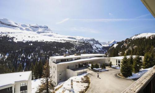 Wakacje w górach Studio 4 osoby (Budget 25m²-4) - Résidence Grand Massif - Maeva Home - Flaine - Zima na zewnątrz