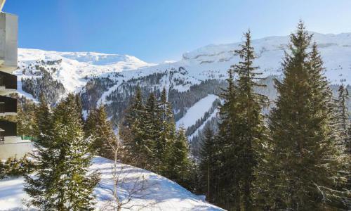 Wakacje w górach Studio 4 osoby (Confort 28m²) - Résidence Iris - Maeva Home - Flaine - Zima na zewnątrz