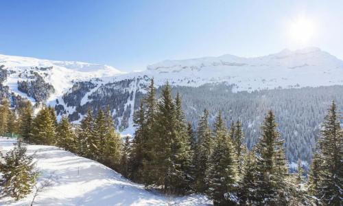 Wakacje w górach Studio 4 osoby (Confort 26m²-4) - Résidence Iris - Maeva Home - Flaine - Zima na zewnątrz
