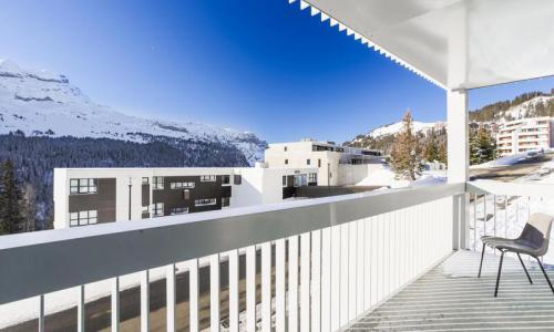 Wakacje w górach Apartament 3 pokojowy 8 osób (Confort 60m²-2) - Résidence la Petite Ourse - Maeva Home - Flaine - Zima na zewnątrz