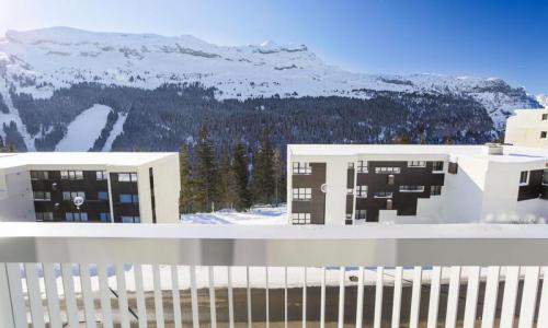 Wakacje w górach Apartament 4 pokojowy 6 osób (Sélection 100m²-3) - Résidence la Petite Ourse - Maeva Home - Flaine - Zima na zewnątrz
