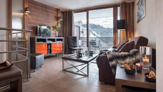 Location au ski Résidence le Centaure - Flaine - Coin séjour