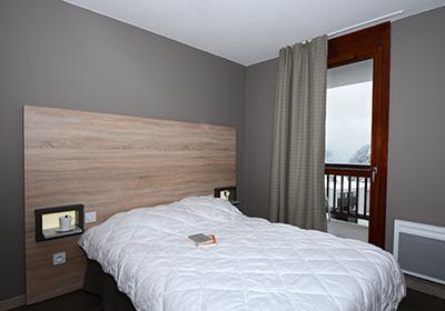Location au ski Residence Le Panoramic - Flaine - Chambre