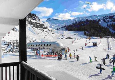 Location au ski Residence Le Panoramic - Flaine - Extérieur hiver