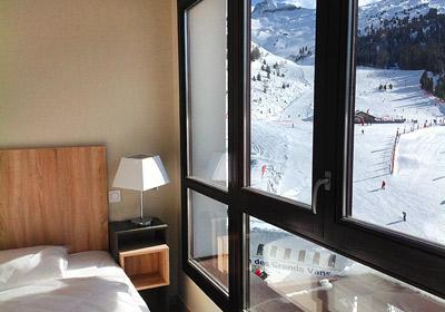 Location au ski Residence Le Panoramic - Flaine - Chambre