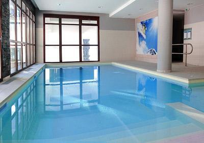 Location au ski Residence Le Panoramic - Flaine - Piscine