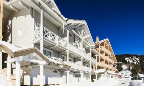 Location au ski Résidence les Châteaux de Crans - Maeva Home - Flaine - Extérieur hiver