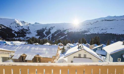 Location au ski Studio 4 personnes (Sélection 27m²-2) - Résidence les Châteaux de Crans - Maeva Home - Flaine - Extérieur hiver