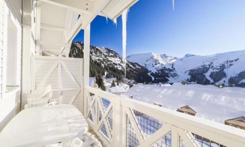 Location au ski Appartement 4 pièces 10 personnes (Confort 77m²-1) - Résidence les Châteaux de Crans - Maeva Home - Flaine - Extérieur hiver