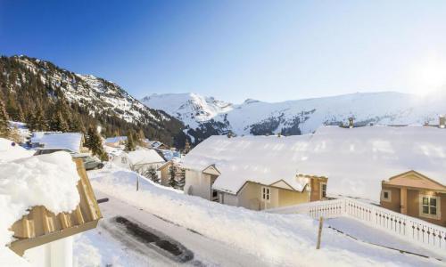 Location au ski Appartement 3 pièces 8 personnes (Confort 60m²-1) - Résidence les Châteaux de Crans - Maeva Home - Flaine - Extérieur hiver