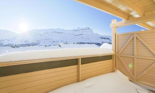 Location au ski Studio 4 personnes (Confort 27m²-1) - Résidence les Châteaux de Crans - Maeva Home - Flaine - Extérieur hiver