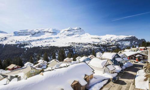 Location au ski Appartement 5 pièces 10 personnes (Prestige 129m²-3) - Résidence les Châteaux de Crans - Maeva Home - Flaine - Extérieur hiver