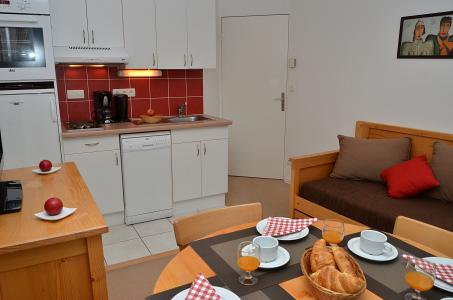 Location au ski Residence Les Pleiades - Flaine - Kitchenette
