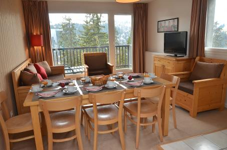 Location au ski Residence Les Pleiades - Flaine - Table