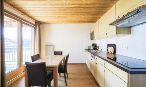 Wakacje w górach Apartament 2 pokojowy 4 osób (Prestige 41m²) - Résidence les Portes du Grand Massif - Maeva Home - Flaine - Zima na zewnątrz