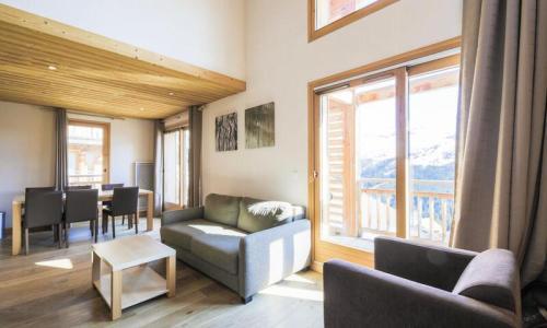Wakacje w górach Apartament 4 pokojowy 8 osób (Prestige 71m²-1) - Résidence les Portes du Grand Massif - Maeva Home - Flaine - Zima na zewnątrz