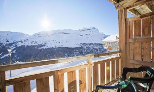 Wakacje w górach Apartament 2 pokojowy 4 osób (Prestige 41m²-1) - Résidence les Portes du Grand Massif - Maeva Home - Flaine - Zima na zewnątrz