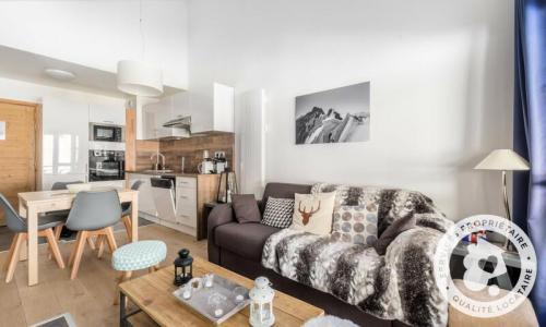 Wakacje w górach Apartament 3 pokojowy 6 osób (Sélection 42m²-5) - Résidence les Terrasses d'Eos - Maeva Home - Flaine - Pokój gościnny