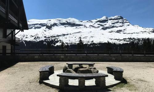 Location au ski Appartement 3 pièces 6 personnes (Prestige 54m²) - Résidence les Terrasses d'Eos - Maeva Home - Flaine - Extérieur hiver