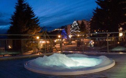 Location au ski Residence Les Terrasses De Veret - Flaine - Jacuzzi
