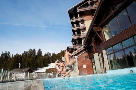 Location au ski Résidence P&V Premium les Terrasses d'Eos - Flaine - Extérieur hiver