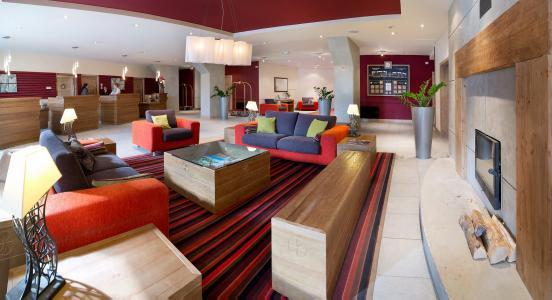 Location au ski Résidence P&V Premium les Terrasses d'Eos - Flaine - Réception