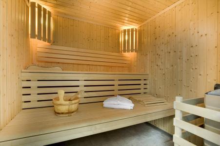 Location au ski Résidence P&V Premium les Terrasses d'Eos - Flaine - Sauna