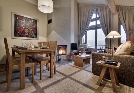 Location au ski Résidence P&V Premium les Terrasses d'Eos - Flaine - Séjour