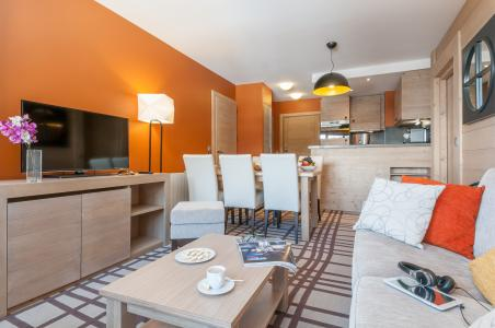 Location au ski Residence P&v Premium Les Terrasses D'helios - Flaine - Salle à manger