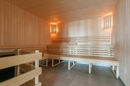 Location au ski Résidence P&V Premium les Terrasses d'Helios - Flaine - Sauna