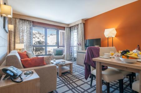 Location au ski Residence P&v Premium Les Terrasses D'helios - Flaine - Séjour