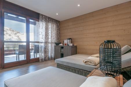 Location au ski Residence P&v Premium Les Terrasses D'helios - Flaine - Solarium