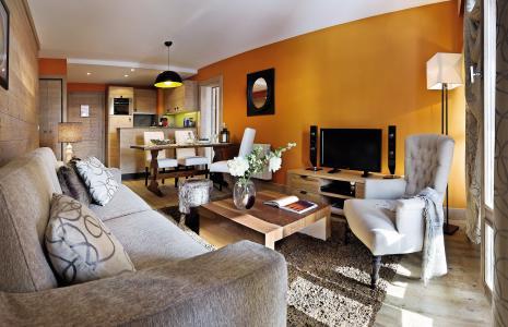 Location au ski Residence P&v Premium Les Terrasses D'helios - Flaine - Table basse