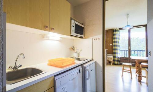 Wakacje w górach Apartament 2 pokojowy 6 osób (Budget 37m²-1) - Résidence Sagittaire - Maeva Home - Flaine - Aneks kuchenny