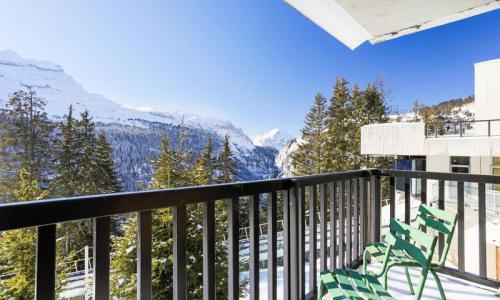Wakacje w górach Apartament 2 pokojowy 6 osób (Budget 37m²-1) - Résidence Sagittaire - Maeva Home - Flaine - Zima na zewnątrz