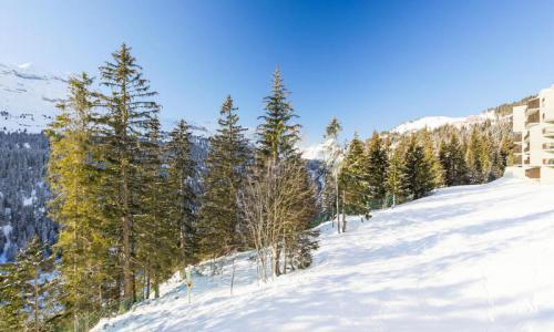 Wakacje w górach Studio 4 osoby (Confort 25m²-2) - Résidence Sirius - Maeva Home - Flaine - Zima na zewnątrz