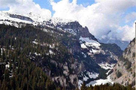 Location au ski Studio 4 personnes (84) - Residence Vega - Flaine - Extérieur hiver
