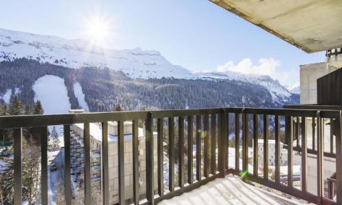Wakacje w górach Studio 4 osoby (Confort 25m²-8) - Résidence Véga - Maeva Home - Flaine - Zima na zewnątrz