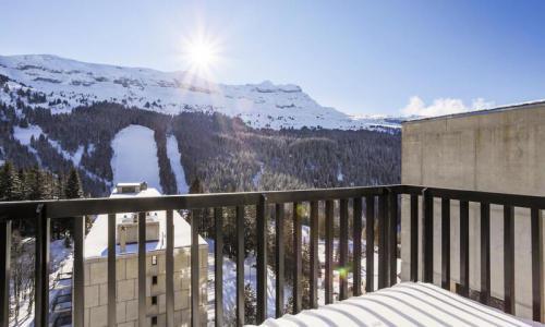 Wakacje w górach Studio 4 osoby (Confort 26m²) - Résidence Véga - Maeva Home - Flaine - Zima na zewnątrz
