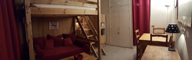 Location au ski Studio 4 personnes (84) - Residence Vega - Flaine - Banquette