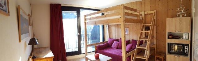 Location au ski Studio 4 personnes (84) - Residence Vega - Flaine - Table