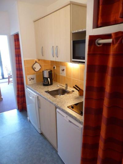 Location au ski Studio cabine 4 personnes (82) - Residence Vega - Flaine - Salle à manger