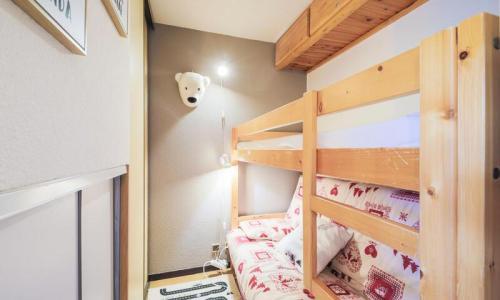 Location au ski Studio 4 personnes (Sélection 26m²-2) - Résidence Verseau - Maeva Home - Flaine - Lits superposés